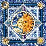 Celestial Hippie Tapestry by Dan Morris 28x28