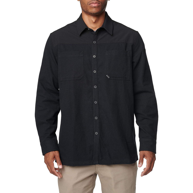 Noir  L 5.11 Tactical Ascension T-Shirt à Manches Longues