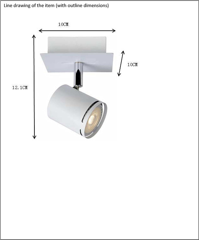 Blanc - GU10-1x4,5W 3000K Lucide RILOU LED Dim Spot Plafond