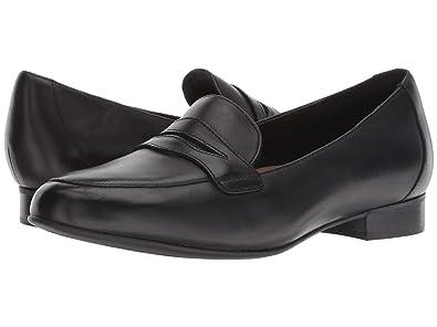 price remains stable outlet online outlet on sale CLARKS Women's Un Blush Go Black Leather 8 D US