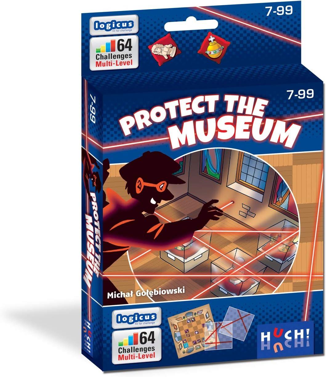 HUCH! 880499 - Juego de lógica Multicolor: Amazon.es: Juguetes y juegos