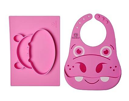Mantel individual y placa de dividido cuenco infantil con infantil | sin problemas | bebé bowl