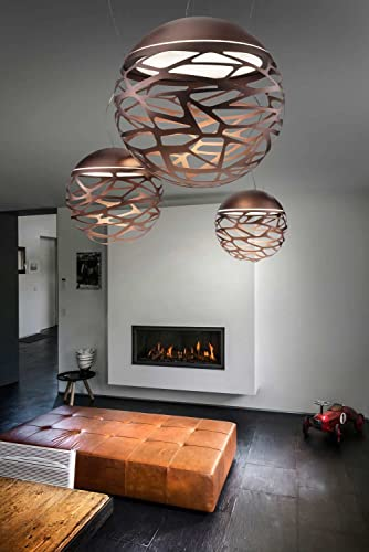 Studio Italia lampadario Kelly Bronzo Rame Realizzato a mano