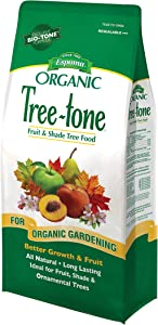 Espoma Tree-Tone Plant Food, Natural & Organic Fertilizer for Shade, Fruit & Ornamental Trees, 4 lb, Pack of 2