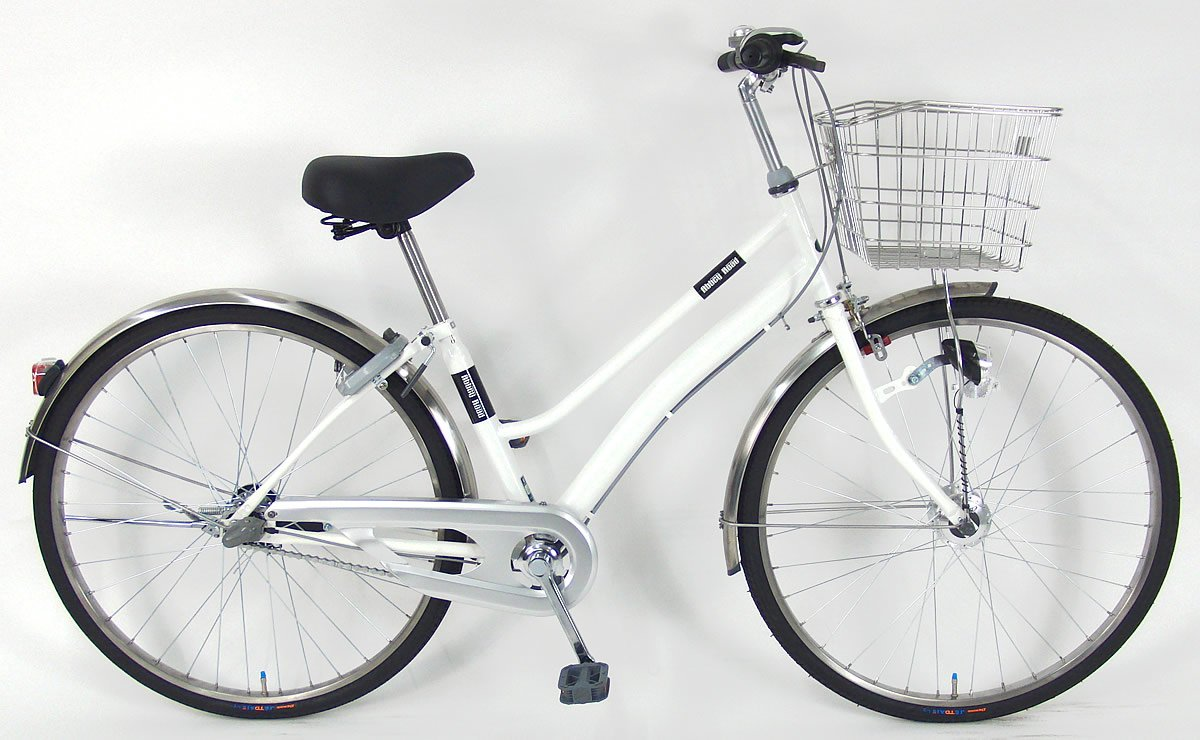 誠実 C.Dream(シードリーム) B078V1PX88 アビーロードS ホワイト ARS638H 26インチ自転車 シティサイクル ホワイト BAA基準適合 3段変速 100%組立済み発送 シティサイクル B078V1PX88, 小笠郡:65258dcb --- greaterbayx.co