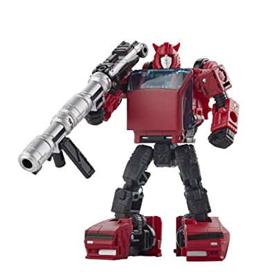 Transformers Toys Generations War for Cybertron: Earthrise Deluxe Wfc-E7 Cliffjumper Action Figure - Kids Ages 8 & Up, 5: Toys & Games