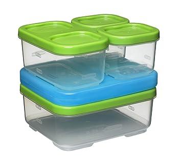 Rubbermaid 1806231 Sandwich Kit Freezer Containers