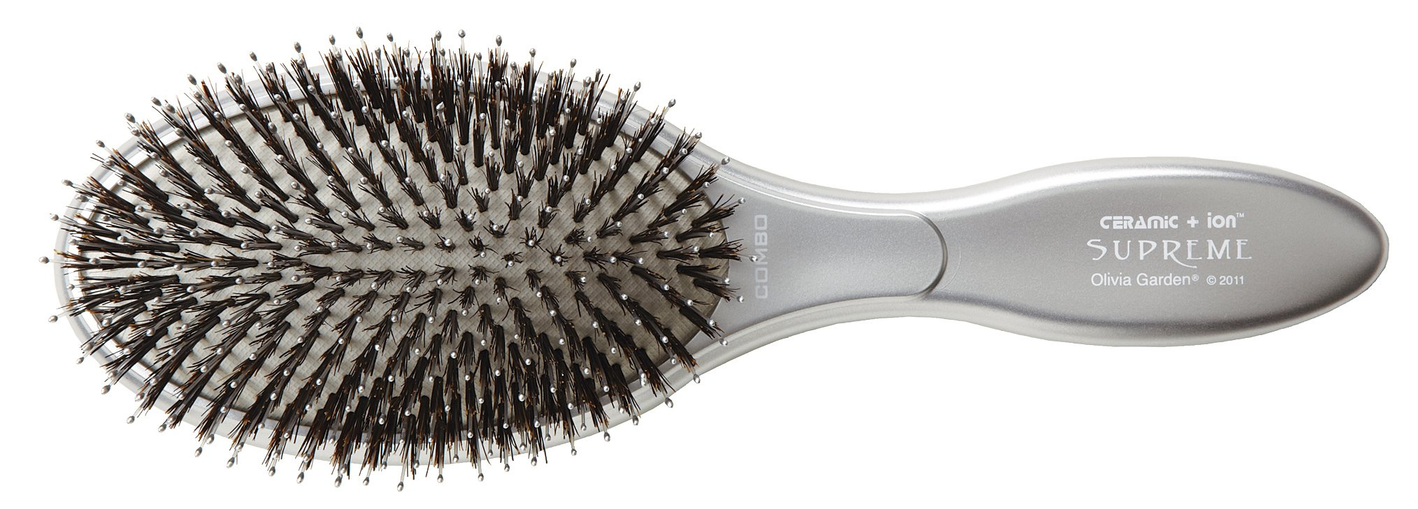Com Olivia Garden Ceramic Ion Supreme Paddle Hair Brush Cisp Co Combo Brushes Beauty