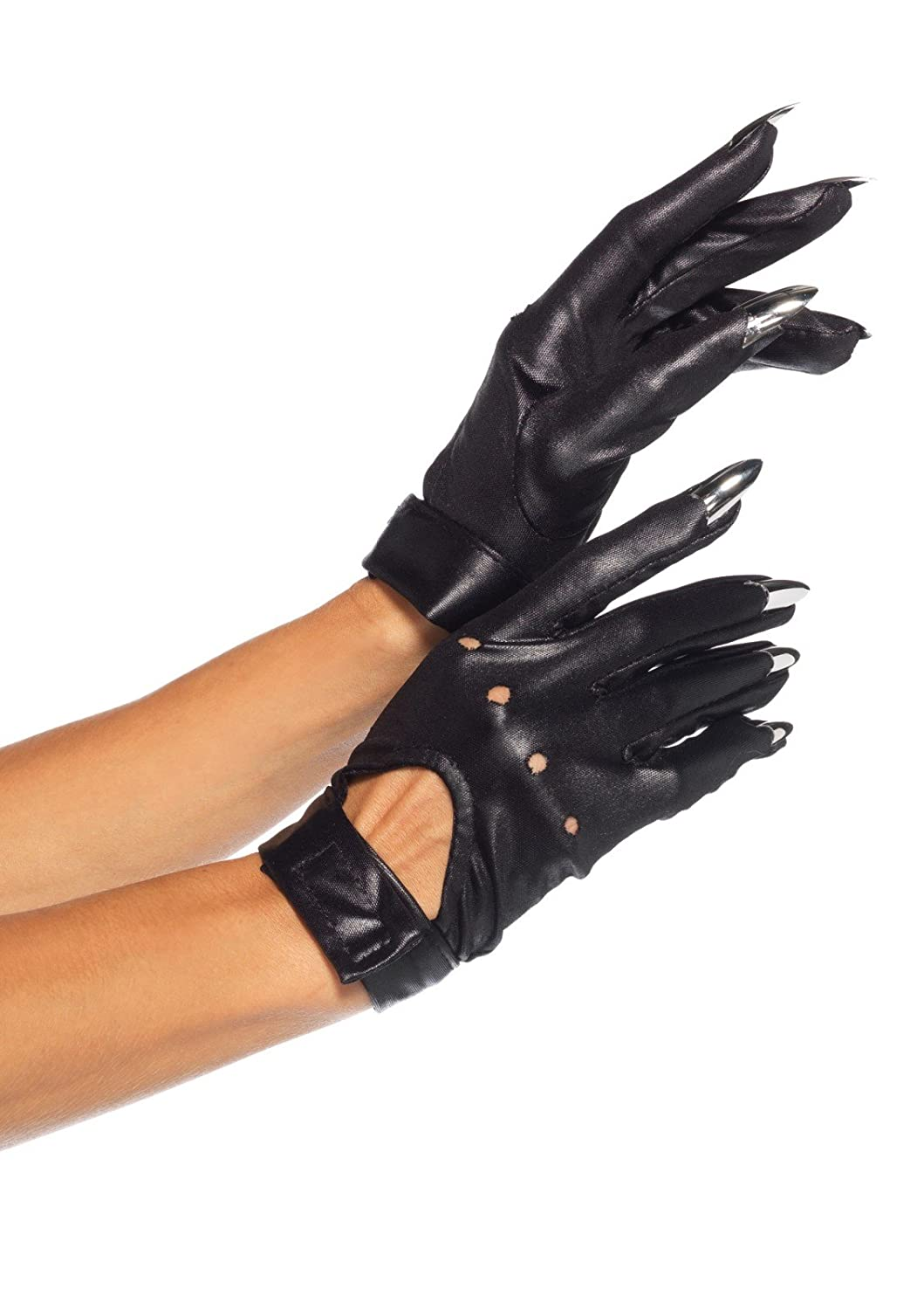 Nail Gloves One Size Black 2663 00122