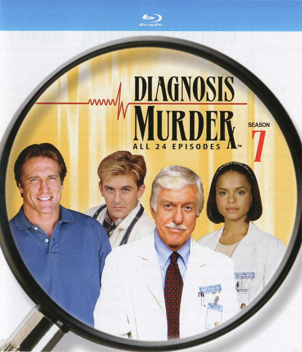 Blu-ray : Diagnosis Murder: The Seventh Season (3 Pack, 3PC)