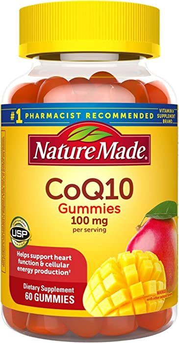 The Best Nature Made Coq10 100 Mg Gummie
