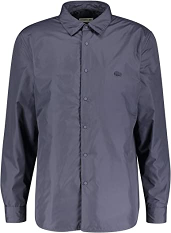 Lacoste - Camisa Punto Manga Larga Hombre: Amazon.es: Ropa y accesorios