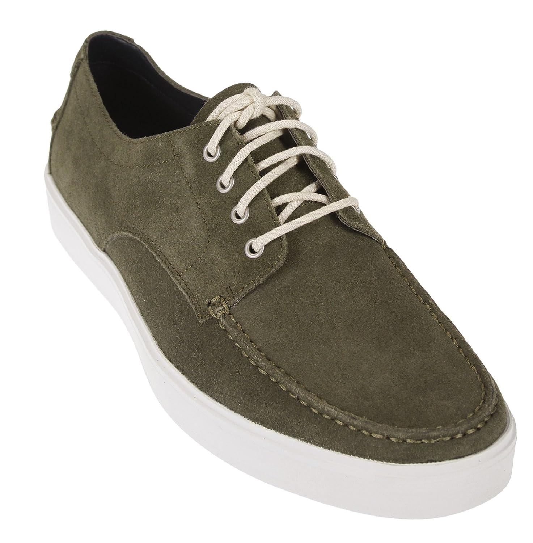 Amazon.com | Cole Haan Mens Bergen Moc Oxford Shoes (13, Fatigue Suede) | Shoes