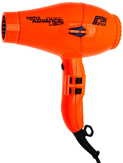 Parlux Advance Light - Secador de pelo ionico, Naranja