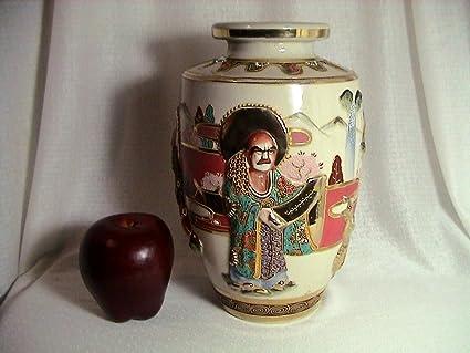 Antique Nippon Vase Morimura Noritake Hand Painted Vase Circa