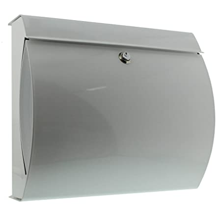 Burg Wächter Letterbox With Integrated Newspaper Compartment A4