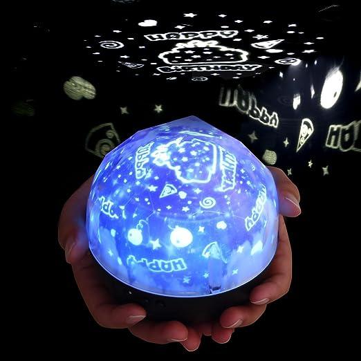 AOLVO - Lámpara LED de proyección Efecto Aurora para Fiestas de ...