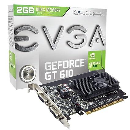 EVGA 02G-P3-2617-KR NVIDIA GeForce GT 610 2GB - Tarjeta ...