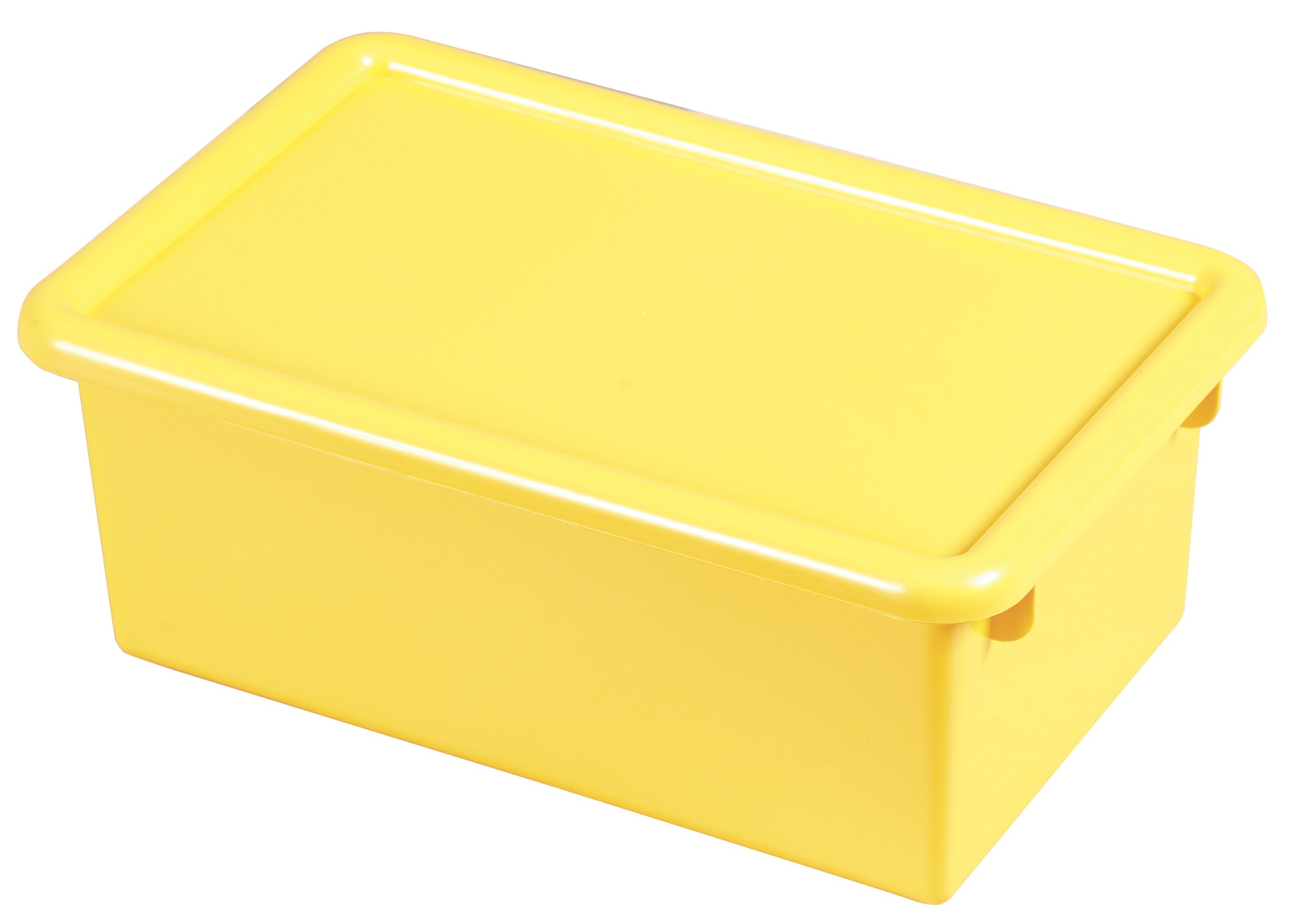 Stack & Store Tub w/Lid Yellow
