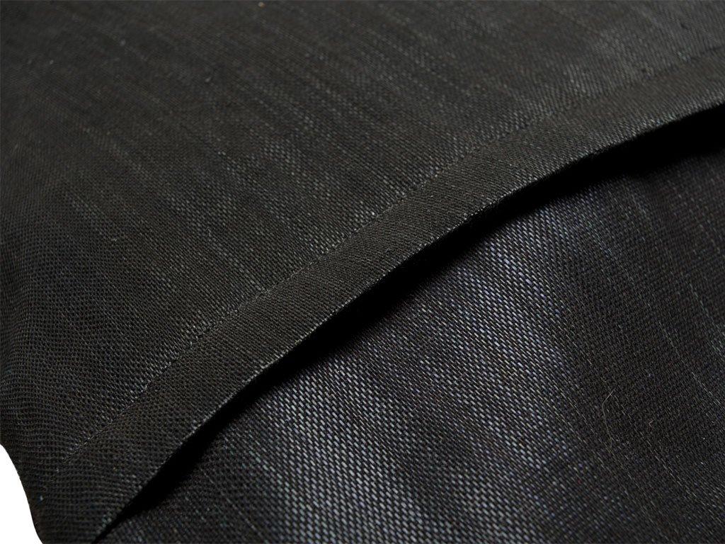 KOUBOO 1040089 Decorative Pillow Cover with Kabibe Seashell 20 x 20 Black//White