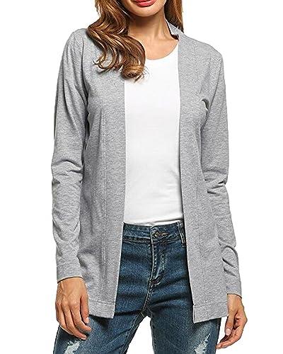 Auxo - Cárdigan - para mujer gris gris