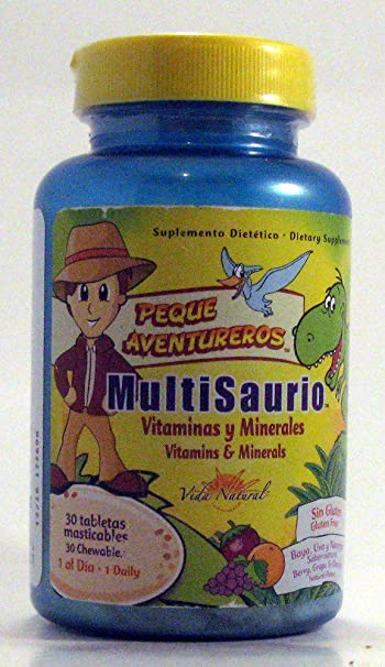 MultiSayro / MultiSaurus (Berry, Grape and Orange) Vida Natural 30 Chewable