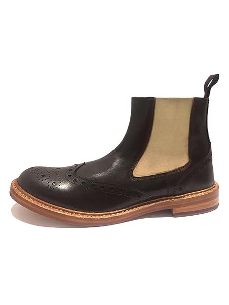 London BroguesBrunswick - Botines Chelsea hombre: Amazon.es: Zapatos y complementos