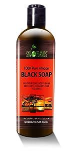 Organic African Black Soap