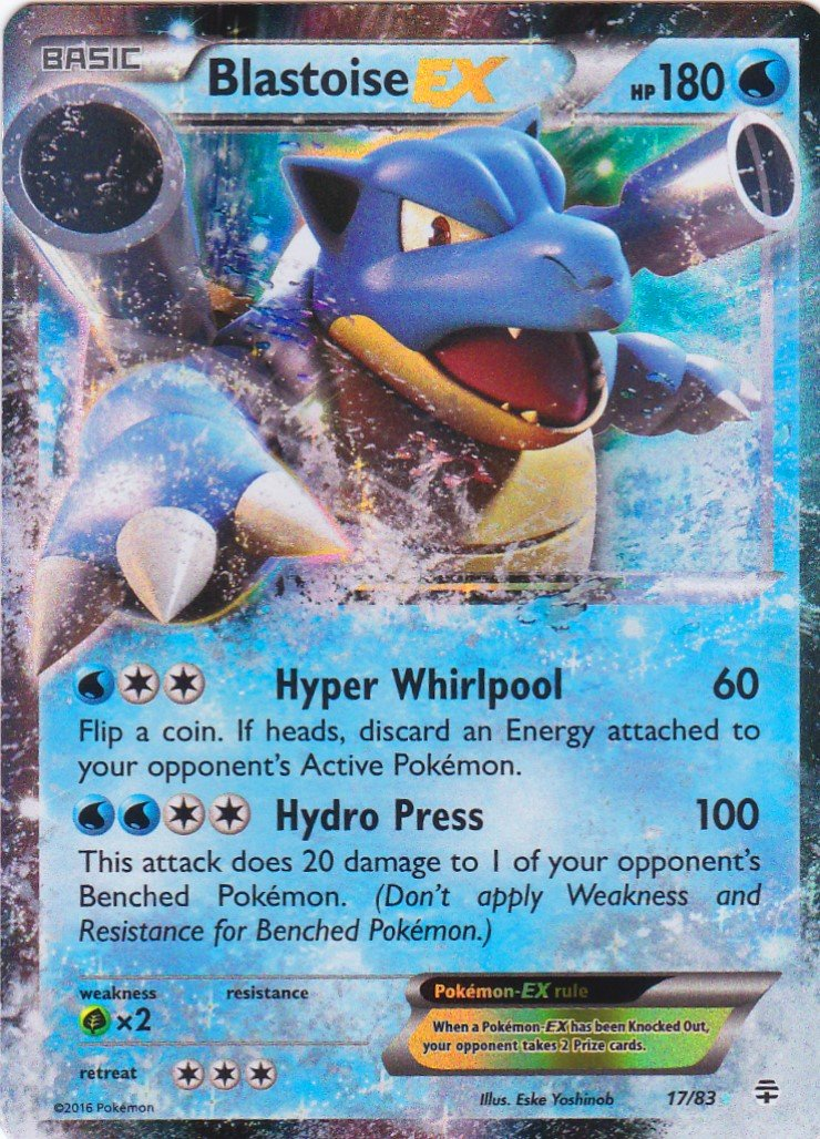 Pokémon - Tarjeta única - Blastoise EXGenerations # 17/83 ...