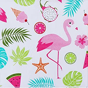 Bilipala 40 Count Tropical Flamingo Paper Napkins Slice Party 2-Ply Paper Napkins for Wedding Baby Shower Birthday Party
