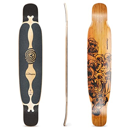 Loaded Boards Bhangra Bamboo Longboard Skateboard Deck Flex 1
