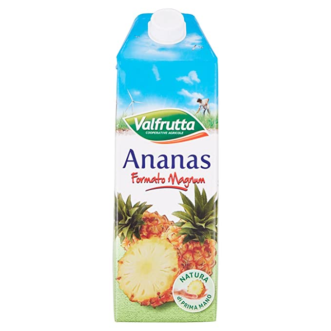 6 opinioni per Valfrutta- Bevanda Analcolica, Ananas- 1500 Ml
