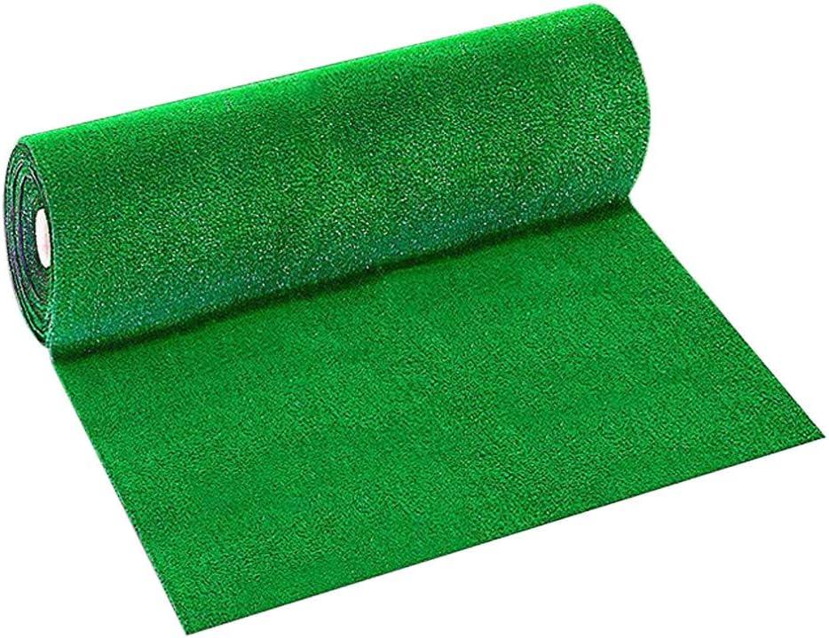 SHSH Artificial Grass Mat Plastic Lawn Grass Indoor Outdoor,Artificial Grass,Artificial Turf Plastic Fake Lawn Balcony Artificial Mat ,Artificial Grass Mat DIY Grass Lawn Green-250g