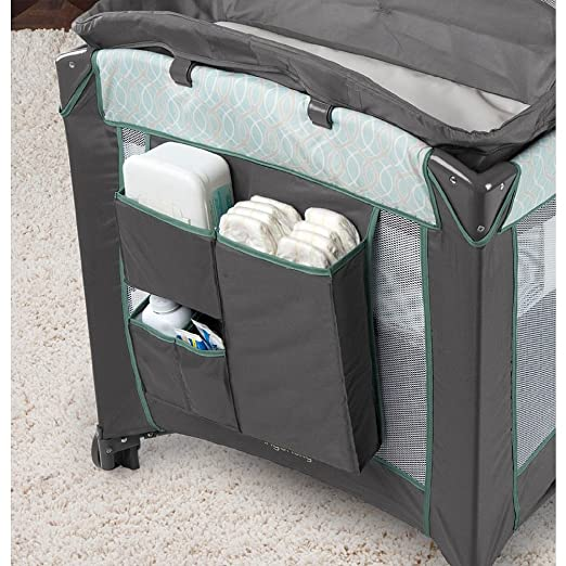 Amazon.com : Ingenuity Smart and Simple Play Yard with Dream Center - Cambridge - 9496C0A1 : Baby