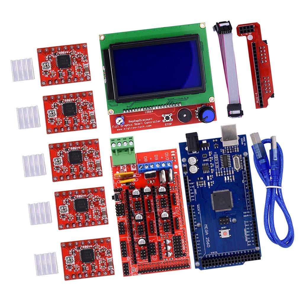Tubayia 3D Printer - Juego de controlador para impresora 3D ...