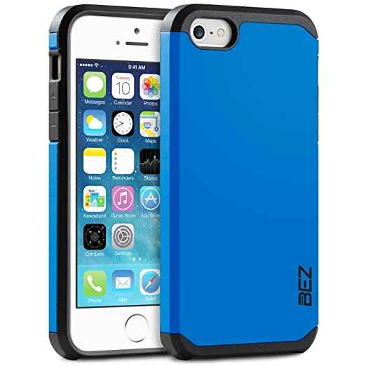 3 opinioni per Cover iPhone 5 5S, Custodia iPhone SE, BEZ® Cover Protettiva con Impact