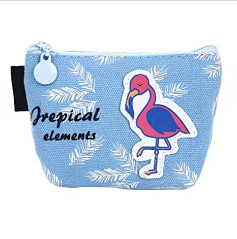 bigboba Mini Monedero Creative Flamingo impermeable Monedero ...