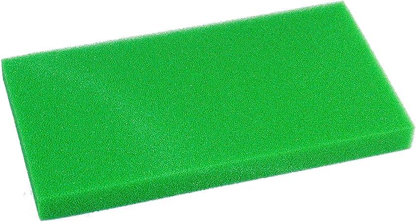 Filter Mat Black Filter Sponge Filter Foam 50 x 50 x 5 cm Course 10 Ppi