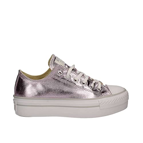 Converse Platform Ox Zapatos Deportivos Mujer Rosa: MainApps: Amazon.es: Zapatos y complementos