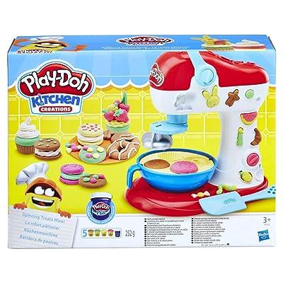 Play-Doh E0102EU4 Kitchen Creations Spinning Treats Mixer: Toys & Games