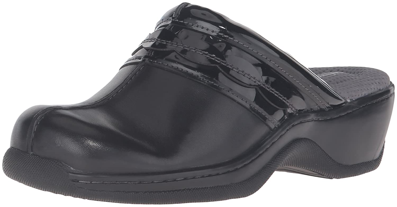 SoftWalk Women's Abby Clog B019P4ZEIY 6 W US|Black/Black