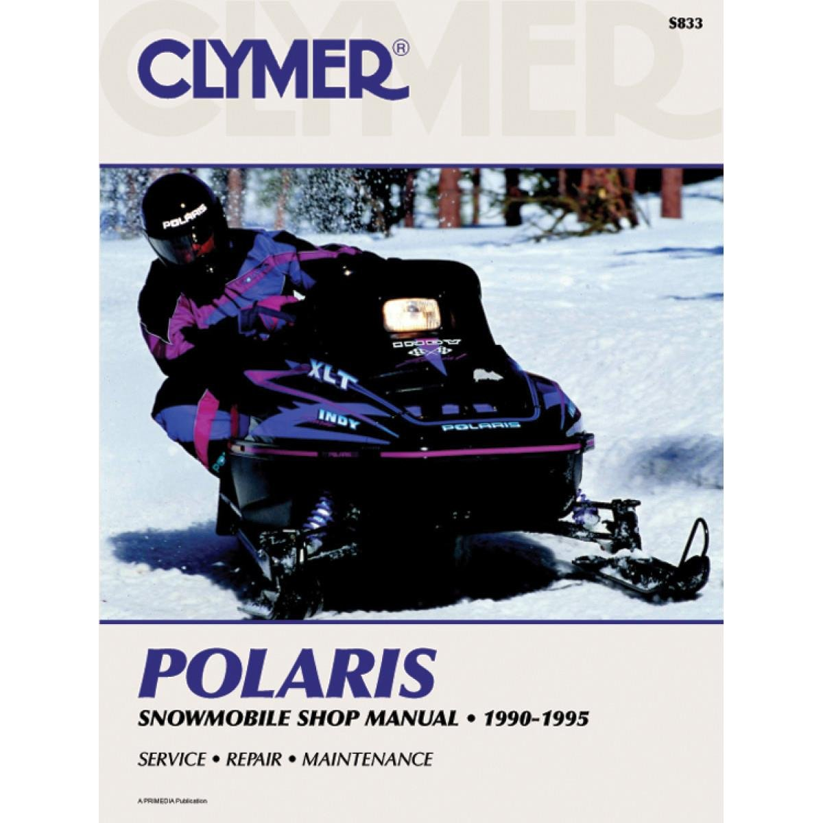 Clymer Polaris Snowmobile 1990 1995 53005 Wiring Diagram For 1991 Rxl Manufacturer Electronics