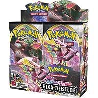 Box Display Pokémon Espada E Escudo 2 Rixa Rebelde