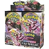 Box 36 Boosters Cards Sortidos Pokémon Espada e Escudo 2 Rixa Rebelde Copag - 90775, Estampado