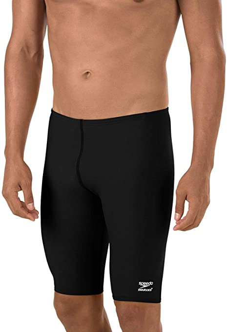 5039d43051987 Image Unavailable. Image not available for. Color  Speedo Men s Endurance+  Polyester Solid Jammer Swimsuit ...