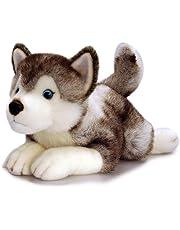 Keel Toys SD4295 - Perro husky siberiano de peluche (35 cm)