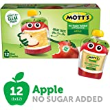 Mott's Unsweetened Applesauce, 3.2 oz pouches, 12 count