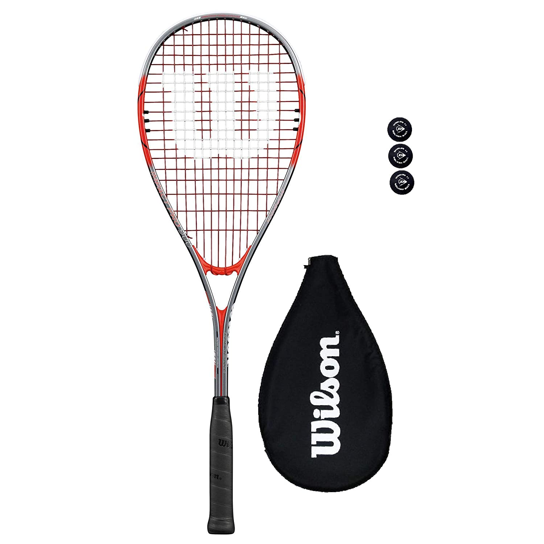 Wilson Impact Raquetas Squash + bolas de 3 Pelota: Amazon.es ...