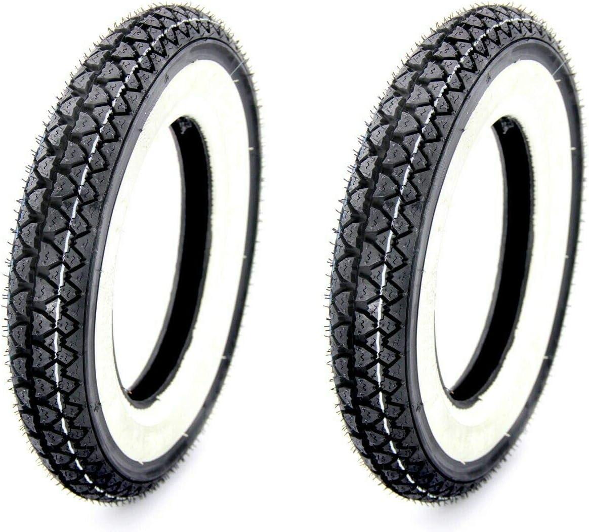 2 Kenda Weisswand Reifen 3 00x10 4pr 42j Tt Für Roller 8 Auto