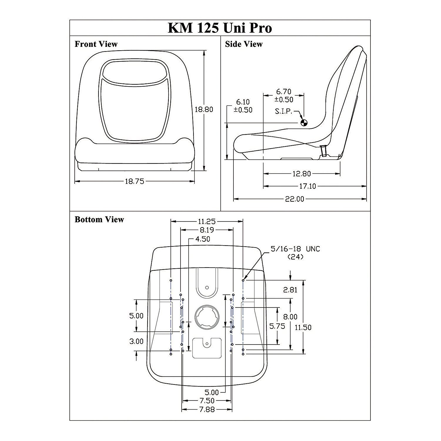 Wiring Diagram For New Holland L425 35 Images Tc35 Sl1500 Amazon Com Seat Bucket Vinyl Gray Ford 555 655 L175